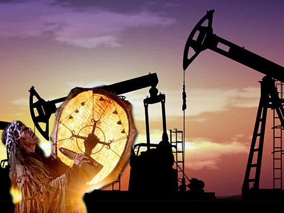 Нефть Brent торгуется ниже 55 долларов забаррель