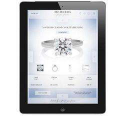 iPad обзавелся приложением для заказа колец и перстней с бриллиантами
