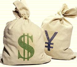Курс доллара снижается против иены на 0,30% на Форекс на фоне снижения фондовых индексов