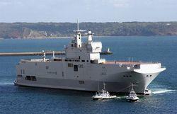 Российским морякам во Франции закрыли доступ на борт «Мистраля»