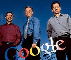 Акции Google упали на 0,27% после отказа основателей от зарплаты