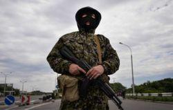В Донецке фиксируют большое количество террористов