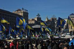 """Тягнибок призвал Майдан сформировать """"народные органы власти"""" в Украине"""