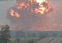 Назван огромный ущерб Украине от взрывов складов: хронология