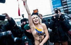 FEMEN не могла обойти вниманием саммит в Вильнюсе