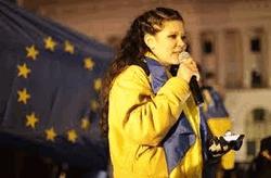 Руслана на сцене Евромайдана