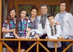Порошенко призвал украинцев больше использовать национальные символы