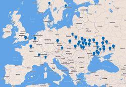 Евромайдан в Киеве поддержали во всех регионах Украины и в мире