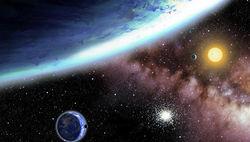 Астрономы впервые обнаружили планету с луной за пределами звездной системы