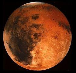 Врезавшийся в Марс астероид стал причиной гигантского цунами