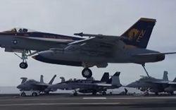 Американские F18 нанесли несколько воздушных ударов по Ираку