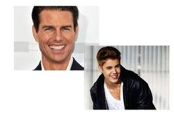Том Круз и Джастин Бибер названы наиболее популярными звездами мирового шоу-бизнеса