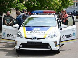 Украинская полиция получила машины с гибридным двигателем
