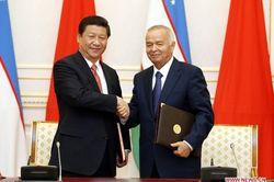 Узбекистан подписал контракты с Китаем на 15 млрд. долларов