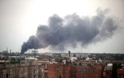 Украинские войска с боями вошли в Луганск