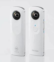 Компания Ricoh начала выпуск фотокамер Theta с обзором 360 градусов