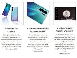 10х зум, 4 камеры: раскрыты характеристики Huawei P30