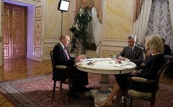 Путин идет на четвертый президентский срок
