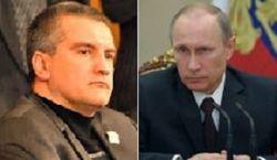 Указом Путина Аксенов назначен и.о. губернатора Крымской республики