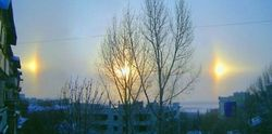 Китай освещало сразу три Солнца – и никакой мистики