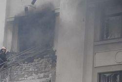 ОБСЕ: взрыв в Луганской ОГА мог быть следствием удара с воздуха