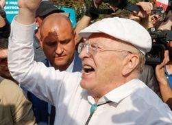 Жириновский на митинге в Москве