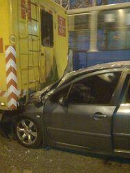 В Донбассе сын прокурора на иномарке  насмерть сбил человека