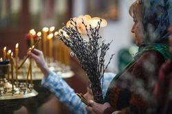 Православные сегодня празднуют Вербное воскресенье