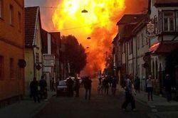 В Германии взорвался газопровод компании, принадлежащей «Газпрому»