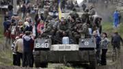 В Славянске начался второй этап АТО