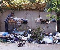 Узбекистан: несмотря на субботники, Ташкент утопает в мусоре