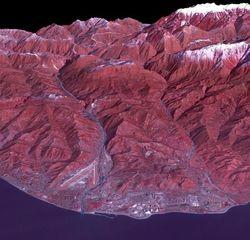 НАСА опубликовало снимок Олимпийского Сочи с орбиты Земли