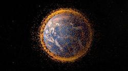 Япония готовится к запуску огромной магнитной сети для сбора космического мусора