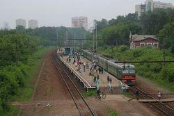 В Москве электричка сбила людей – последствия