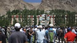 Вывод войск из Горного Бадахшана Таджикистана