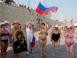 Крымское общество раскололось на проукраинское и пророссийское