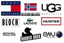 20 ведущих брендов обуви у россиян июня 2014 г. в Интернете