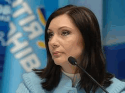 Нардеп от Партии регонов Елена Бондаренко