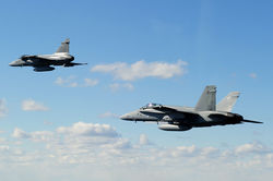 Британские ВВС провели учения по отражению российской угрозы