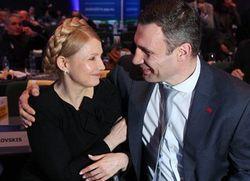 Тимошенко нокатутировала Кличко в Германии