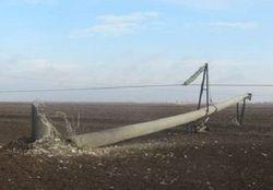 Подрыв ЛЭП в Херсонской области нанес удар по украинским ТЭС и АЭС
