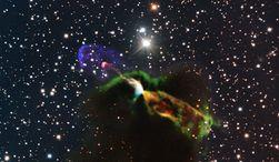 Ученые сфотографировали сверхзвуковое рождение звезды