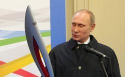 Путин дает старт олимпийской эстафете на Красной площади