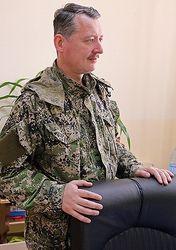 Руководитель самообороны Славянска Стрелков дал интервью российским СМИ