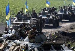 Вблизи границы с Украиной наблюдается скопление военной техники РФ