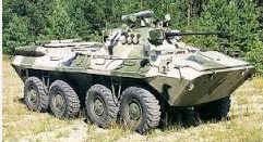 Российские БТР на украинской земле