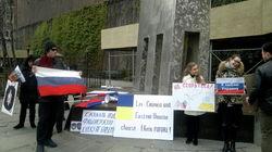 В Америке русские и украинцы выступили за одно: нет фашизму на Украине