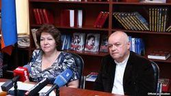 «Кремлевский рупор» Киселев раздражает Армению