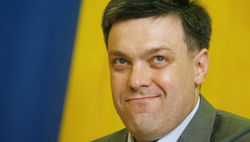 Тягнибок потребовал снять с регистрации в президенты Царева