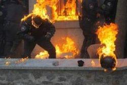 """МВД Украины предлагает снабдить """"Беркут"""" российскими огнеметами"""